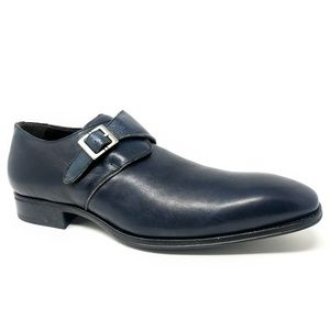 Mezlan Orville Mens Single Monk Strap Loafers